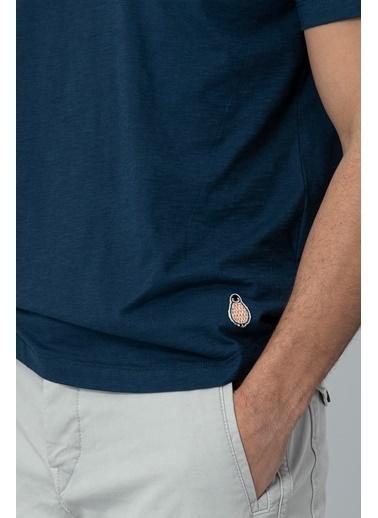 Lufian Tişört Mavi